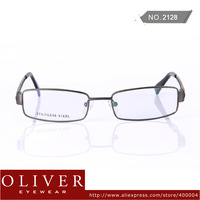 2013 New Fashion Men Glasses Frames Full Frame Eyewear Stainless Steel Material Optical Frame Free Shipping!