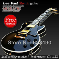 Best Price - New Style 50th Anniversary 1960 LP Black Custom electric guitar free shipping