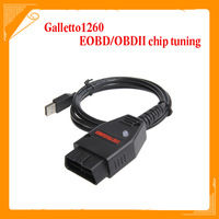 Wholesale Price OBD2 Galletto1260 Flasher EOBD/OBDII chip tuning tool Galletto 1260 ECU flash tool Remap