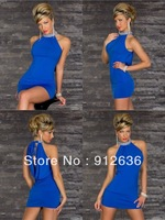 Wholesale Beautiful Women Fine Sexy Satin Gown Dresses YSD12084