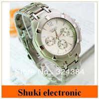 Fashion men stainless steel wristwatch , men's watches