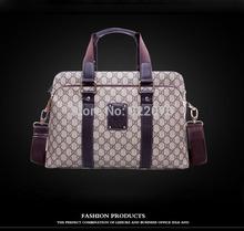 Hot sale!! 2013 New Leather Men Bag Briefcase Handbag Men Shoulder Bag Laptop Bag,free shipping(China (Mainland))