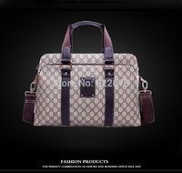 Hot sale!! 2013 New Leather Men Bag Briefcase Handbag Men Shoulder Bag Laptop Bag,free shipping
