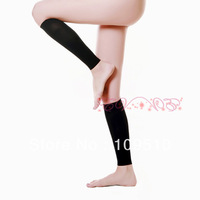 Wholesals 5pairs/lot 2 colors, 2013 hot sale ladies black 680D spandex&lycra medical compression sports leg warmers