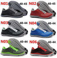 2013 wholesale NEW Free Run+3 V4 Barefoot Running Shoes for Men ! Free shipping and Drop shipping, size: 40-45
