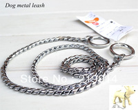 2013 Pet Dog Cat metal leash metal dog rope pet dog chain dog training lead