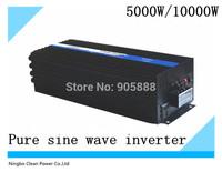 Free shipping! 5000W dc24v to ac230v onda sinusoidal pura good quality!(CP-P-5000W)