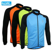 2015 spring summer cycling bike bicycle running long sleeves jerseys shirts wear top clothes