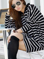Потребительские товары 900111 Scarf Shawl Bohemia Style Black White Easy Match Fashion Accessories