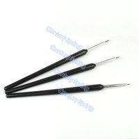 3pcs/set Liner Drawing Acrylic Tiny Nail Art Painting Design Brush Pen Set Dotting Pen