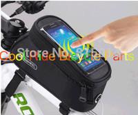 Bicycle touch screen mobile phone bag tube bag saddle bag car bag ride bicycle bag