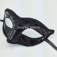on Sale Halloween mask full gold powder mask venetian masquerade party mask mardi gras costume Hip Hop Dance prop free shipping