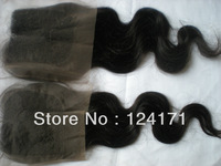 Virgin Brazilian Hair Top Lace Closure body wave 4*4 inch Quality Guaranteed