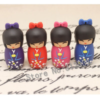 Wholesale Hot sale japen girl   modle 4GB - 32GB USB 2.0 Flash Memory Stick Drive Festival /Car/Gift free shipping D154