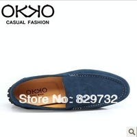 Free shipping Breathable male gommini men loafers fashion casual shoes genuine leather shoes men's