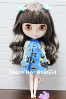 12''Blythe Nude doll bjd doll k-180-black blythe doll for sale Free shipping