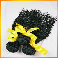 Wet and wavy hair 5a peruvian virgin deep curly hair 3 bundles mixed lenght 100g kinky curly human hair weave 100% human hair