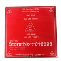 1PCRed RepRap 3D Printer PCB Heatbed MK2a heated heat bed For Prusa & Mendel