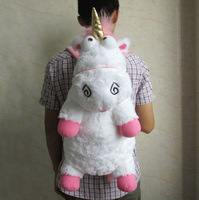 "24"" New Despicable Me Lovely Fluffy Large Unicorn Soft Plush Doll Toy"