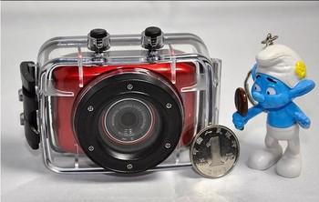 "HD 2"" LCD Touch Waterproof Digita Helmet Action Video Sport Camera DV DVR Cam Camcorder For Bike/Diving/Surfing/Ski/Skydiving"