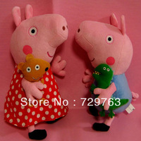 Cartoon Papa Pig Dolls Pepe George Pink Pigs Anime Plush Toys Children Christmas Gifts