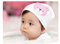 Wholesale Newborn cap baby hat child male female child cartoon bear dot pocket hat