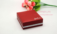 9CM * 9CM * 3.5CM   Wedding ring box of high-grade bracelet box  jewelry box necklace bracelet box