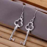 Lose Money!!Wholesale 925 Silver Earring,925 Silver Fashion Jewelry Tripe Round Spoon Earrings SMTE134