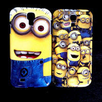 New Despicable Me Hard Back Cover Case for Samsung Galaxy S4 i9500 free shipping
