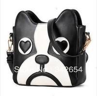Free shipping the new 2013 cartoon cute dog package inclined shoulder bag one shoulder BaoChao handbag fashion bag