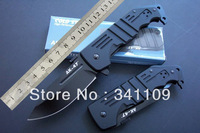 5pcs/lot Cold Steel AK-47 Tactical Hunting Pocket Knife Folding Knives black Blade Aviation Aluminium Handle