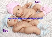 "12"" kawaii cute Silicone Reborn Baby Dolls toys for kids Children christmas gift12NPK6576Q&6577Q 2013/2014 Free shipping"