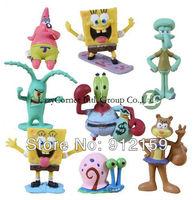 SpongeBob Figures SquarePants PVC toy His Friends Figures