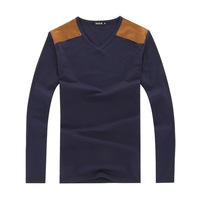 Free Shipping 2013 Men's Long Sleeve T-Shirt Casual T-Shirt Hot Sales 3 Colors 1pc/lot