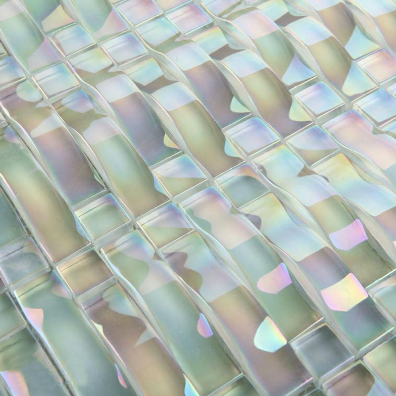 popular iridescent tile backsplash from china best selling