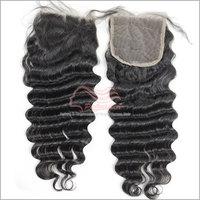 "Freestyle Deep Wave Closure Virgin Hair Middle Part 3 Part Lace Closure  4x4 Top Closure 8""-20"" Available"