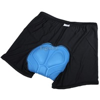 10pcs/Lot Wholesale New Men Bicycle Cycling Underwear Gel 3D Padded Bike Short Pants Black Hot size M L XL XXL XXXL 17888