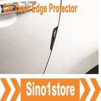 Free Shipping! 4pcs/lot Car Door Edge Protector Carbon Fiber Door side Edge Protection Guards Stickers