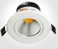 AC85~265V 10W,15W,Ceiling,High Lumens 95~100LM/W COB LED Downlight 10W,12W LED Down Light Epistar Chip CE&RoHS,Free Shipping