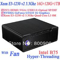 Best server with 16G RAM 120G SSD 1TB HDD Xeon E3-1230 v2 Quad Core 8 threads windows 7 64 BIT intel B75 NVIDIA GeForce GT610 1G