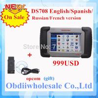 2014 newest Top Selling Original Autel Maxidas DS708 Universal Diagnostic Scanner Maxi das DS 708 Multi Language DS-708 Free DHL