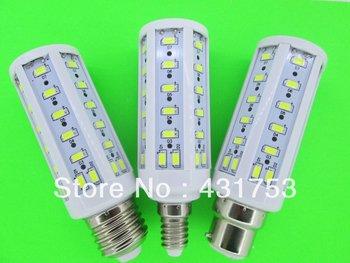 2014 Promotion Top Fasion e27 b22 e14 220v Ce Chandelier 5630 15W Corn Lamp Led Energy Saving Light Bulb 110v/220v LED Corn Bulb