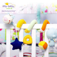 Bt-3254 baby toy bed bell rattles, newborn bed bell rotating bedding bedside bell