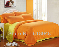 2013 New Style Free Sipping Cheap Pure Color King/Queen/Twin Bedding Set including Duvet Cover/Bed Sheet set/Pillowcases W0063