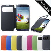 For samsung   s4 phone case protective case i9500 original leather case 4 mobile phone case smart
