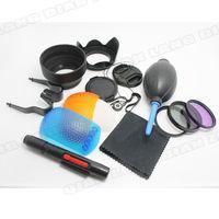 100% Professional  67MM Filter CPL+UV Set + Lens Hood + Cap + Cleaning Kit for Canon EOS T4i T3i 7D 50D 60D 18-135mm 17-85mm