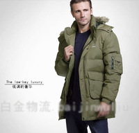 2013 free shipping winter brand men down jacket thick men's down coat Super warm