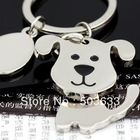 10pcs/Lot Creative Funny Nice Moving Lovely Dog Keychain Keyring Key Chain Ring Key Fob Holder 85712