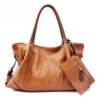 2014 fashion designer brand bag  women's handbag vintage block messenger bags ladies genuine leather  bags