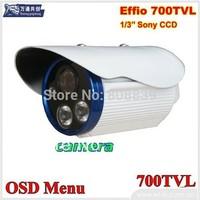 CCTV 2 Array LED  Security camera  700TVL IR  6m Surveillance  Camera